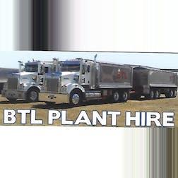 Logo of B T L  plant hire