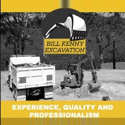 Logo of Bill Kenny Excavations