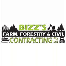 Logo of Bizz's Farm Forestry & Civil Pty Ltd