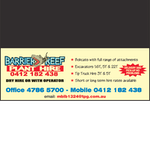 Barrier Reef Plant Hire logo
