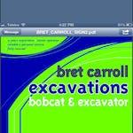 Logo of Brett Carroll Excavations