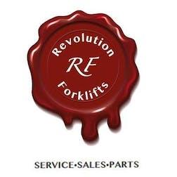 Logo of Revolution Forklifts