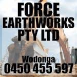 Logo of Force Earthworks Pty Ltd
