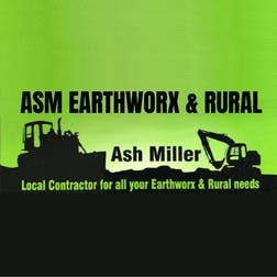 Logo of ASM Earthworx and Rural