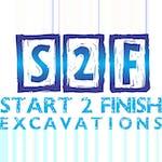 Logo of Start 2 Finish Excavations Pty Ltd
