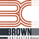 Brown Contractors logo