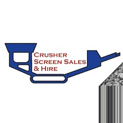 Logo of Crusher and Screen Sales and Hire