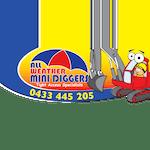 All weather mini diggers logo