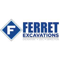 Logo of Ferret Excavations