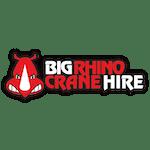 BIg Rhino Crane Hire logo
