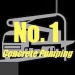 Logo of No1concretepumping T/As Marty's Concrete Pumping