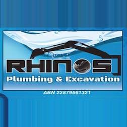 Logo of Rhinos Plumbing and Excavations