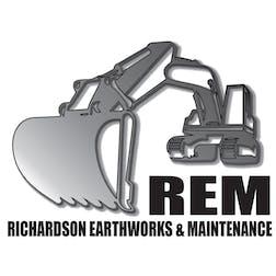 Logo of Richardson Earthworks & Maintenance