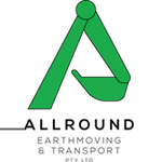 Allround earthmoving and transport Pty Ltd logo