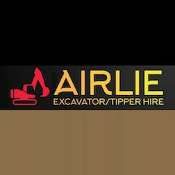 Logo of Airlie excavator/tipper hire