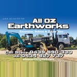 All Oz Earthworks  logo