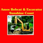 Amos Bobcat and Excavator Hire logo