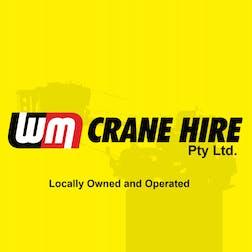 Logo of WM Crane Hire