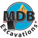 Logo of MDB Excavations