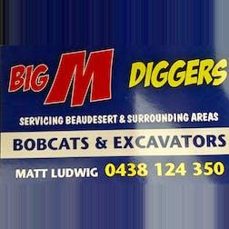 Logo of Big M Diggers