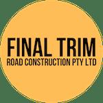 Logo of Final Trim Road Construction