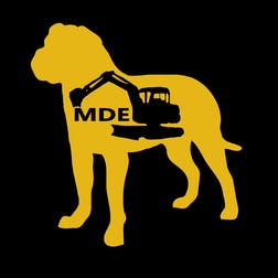 Logo of Mud Dog Earthworks