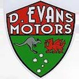 Logo of D Evans Motors