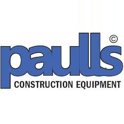 Logo of Paulls construction equipment