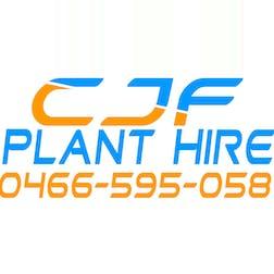 Logo of CJF Plant Hire