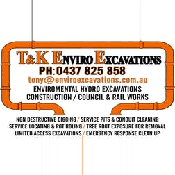Logo of T & K Enviro Excavations