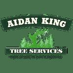 Logo of Aidan King Tree Services