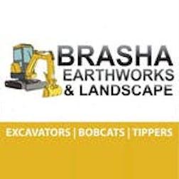 Logo of Brasha Earthworks