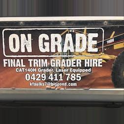 Logo of ON GRADE