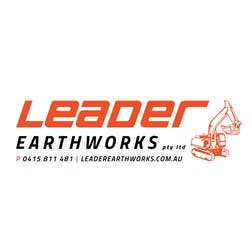 Logo of Leader Earthworks Pty Ltd