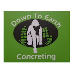 Logo of Down To Earth Concreting