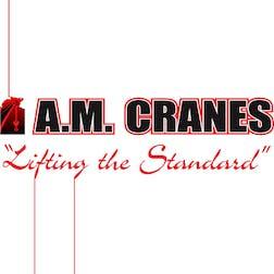 Logo of A.M. Cranes & Rigging Pty Ltd