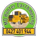 Logo of MD Hunter Earthmoving