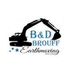 Logo of B & D Brouff Earthmoving
