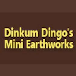 Logo of Dinkum Dingos Mini Earthworks