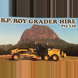 Logo of B.P. Roy Grader Hire