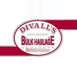 Logo of Divalls Earthmoving & Bulk Haulage