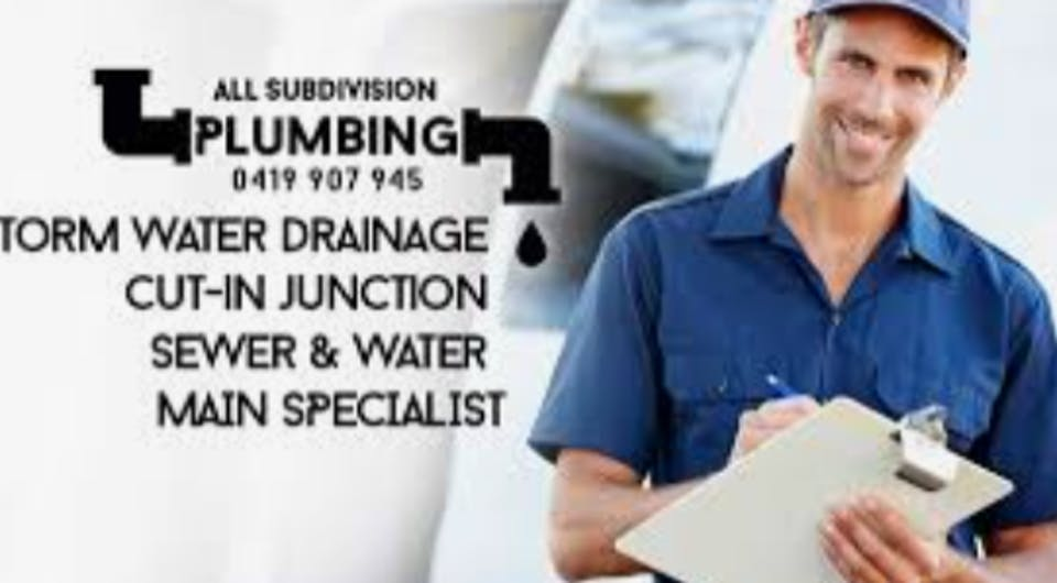 All Subdivision Plumbing