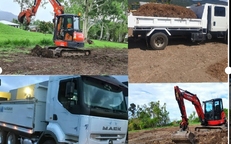 Airlie excavator/tipper hire featured image