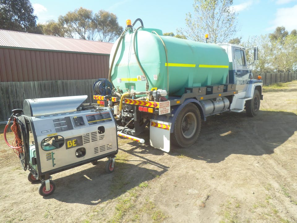 Brian Wolters water cart