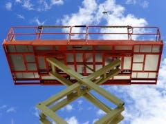 Scissor Lift Hire in Brisbane CBD