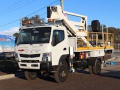 Truck Mounted EWP Hire in Brisbane CBD