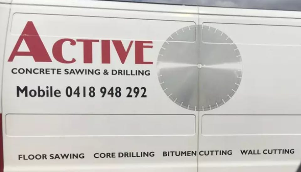 Active Concrete Sawing & Drilling