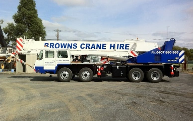 Browns Cranes featured image