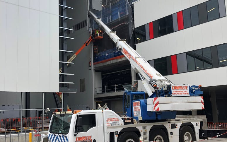 Complete Rigging & Crane Hire Pty Ltd featured image