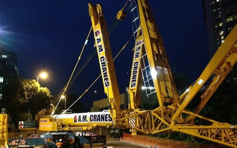 A.M. Cranes & Rigging Pty Ltd  featured image